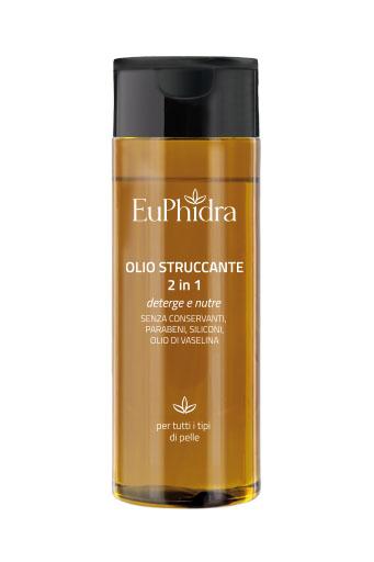 EUPHIDRA OLIO DETERGENTE STRUCCANTE IN FLACONE DA 100 ML CON ASTUCCIO - latuafarmaciaonline.it
