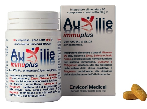 AUXILIE IMMUPLUS JUNIOR DEGLUTIBILE 30 COMPRESSE - Farmabellezza.it