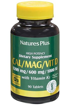 CALCIO MAGNESIO VITAMINA D3 + VIATMINA K2 90 TAVOLETTE 234 G - Farmastop