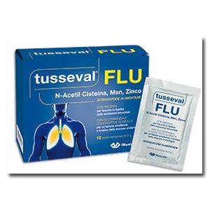 TUSSEVAL FLU 12 BUSTINE SOLUBILI 60 G - Farmacia Bartoli