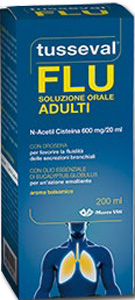 TUSSEVAL SOLUZIONE ORALE ADULTI 200 ML - Farmacia Bartoli