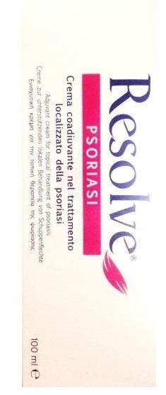 RESOLVE PSORIASI CREMA 100 ML - Farmacia Centrale Dr. Monteleone Adriano