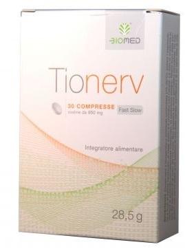 Biomed Tionerv Integratore Alimentare 30 Compresse - Carafarmacia.it