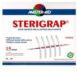 CEROTTO PER SUTURA MASTER-AID STERIGRAP 7,5X0,3 15 PEZZI - Farmacia 33