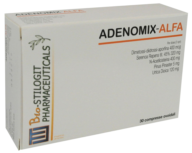 ADENOMIX ALFA 30 COMPRESSE - Farmaciaempatica.it