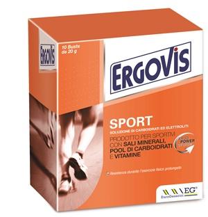 ERGOVIS SPORT 10 BUSTINE 20 G - Farmacia Al Te