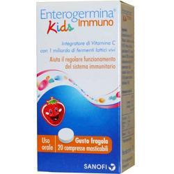ENTEROGERMINA IMMUNO KIDS 20 COMPRESSE
