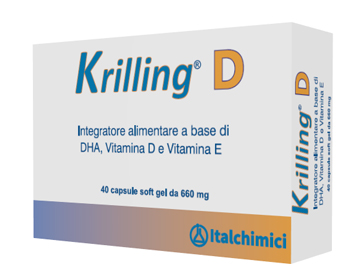 KRILLING D 40 CAPSULE - Farmafirst.it
