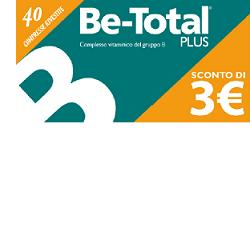 BE-TOTAL 40 COMPRESSE PROMOZIONE - Farmaciasconti.it