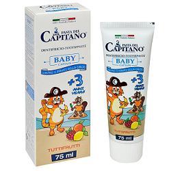 PASTA CAPITANO DENTIFRICIO BABY T FRU 75 ML - Farmacia Basso