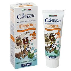 PASTA CAPITANO DENTIFRICIO JUNIOR 75 ML - Farmacia Basso