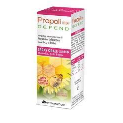 PROPOLIMIX DEFEND SPRAY ORALE JUNIOR ANALCOLICO 30 ML GUSTO FRAGOLA - Farmacia Giotti