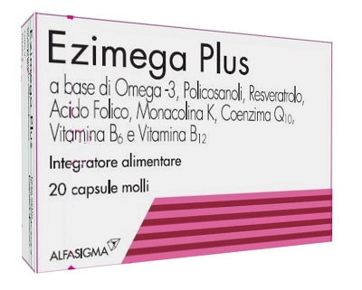 Ezimega Plus 20 Capsule Molli - Sempredisponibile.it
