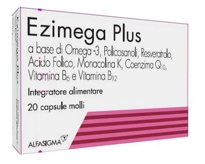 EZIMEGA PLUS 20 CAPSULE MOLLI - Farmaciacarpediem.it