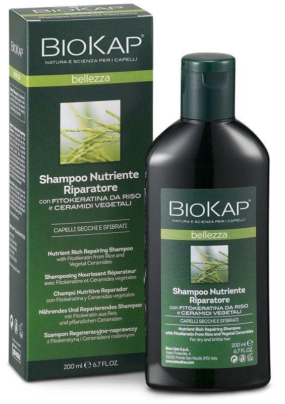 BIOKAP SHAMPOO NUTRIENTE/RIPARATORE 200 ML - La farmacia digitale