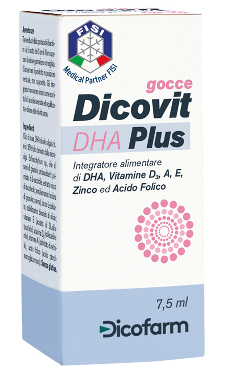 DICOVIT DHA PLUS 7,5 ML - Farmapass
