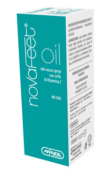 NOVAFEET OIL SENZA PARABENI 50 ML - Farmafamily.it