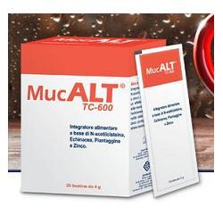 MUCALT TC-600 20 BUSTE 4 G - Parafarmacia Tranchina