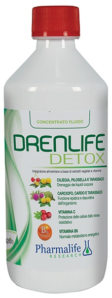 DREN LIFE DETOX 500 ML - Farmastar.it