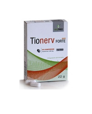 TIONERV FORTE 20 COMPRESSE - Farmafamily.it