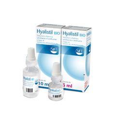 SOLUZIONE OFTALMICA UMETTANTE LUBRIFICANTE HYALISTIL BIO ACIDO IALURONICO 0,2% 10 ML - Farmaseller