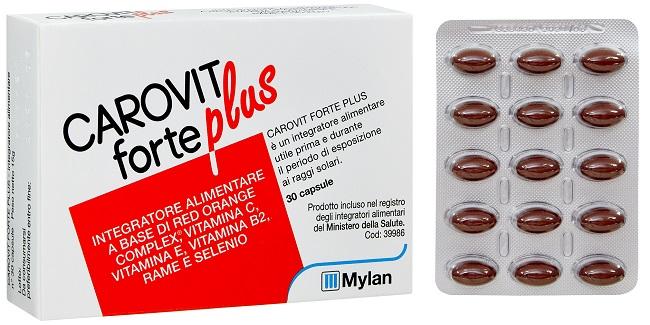 CAROVIT FORTE PLUS 30 CAPSULE - Farmacia Massaro