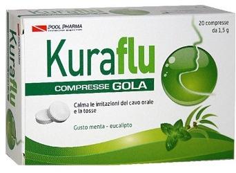KURAFLU GOLA EUCALIPTO 20 COMPRESSE 1,5 G - Farmafirst.it