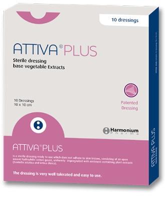 Attiva Plus Medicazione Sterile Per Pazienti Diabetici 10x10 cm 10 Pezzi