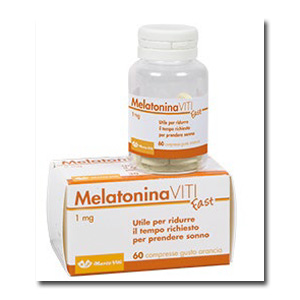 MELATONINA VITI FAST 1 MG 60 COMPRESSE - Farmacia Bartoli