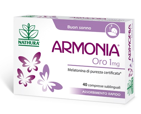 ARMONIA ORO 1 MG 40 COMPRESSE - Farmabenni.it
