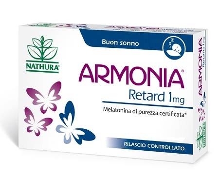 NATHURA ARMONIA RETARD 1MG INTEGRATORE ALIMENTARE 120 COMPRESSE - Farmastar.it