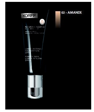 KORFF MK FOND NEVERENDING 02 AMANDE 30 ML - Farmastop