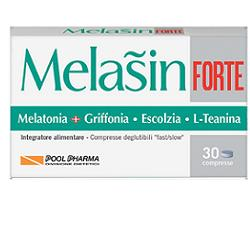 Pool Pharma Melasin Forte 1 mg Integratore Sonno 30 Compresse