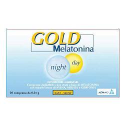 MELATONINA GOLD HTP 1MG 20 COMPRESSE - Salutefarma.it