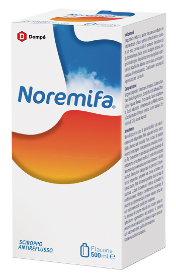 NOREMIFA SCIROPPO ANTIREFLUSSO 500 ML - Parafarmacia Tranchina