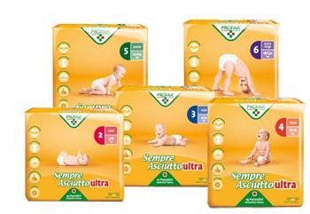 SEMPRE ASCIUTTO ULTRA EXTRA LARGE TAGLIA 6 16/30KG 15 PEZZI PROFAR - Speedyfarma.it