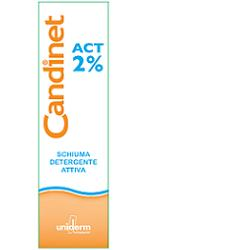 CANDINET ACT 2% SCHIUMA DETERGENTE ATTIVA 150 ML - Farmaunclick.it