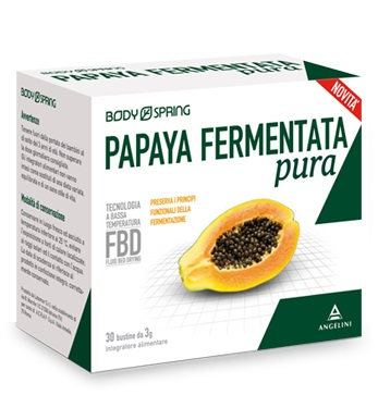 BODY SPRING PAPAYA FERMENTATA PURA 30 BUSTINE - farmaventura.it