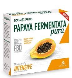 BODY SPRING PAPAYA FERMENTATA PURA INTENSIVE 12 BUSTINE - farmaventura.it