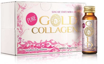 GOLD COLLAGEN PURE 10 FLACONI 50 ML - Spacefarma.it