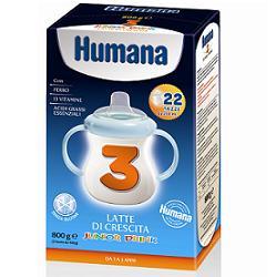 Humana 3 Junior Drink Latte Di Crescita 800g - Farmajoy