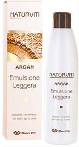 Naturviti Argan Emulsione Leggera Emolliente 250 ml