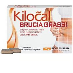 Kilocal Brucia Grassi Integratore Dimagrante 15 Compresse - latuafarmaciaonline.it