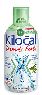 KILOCAL DRENANTE FORTE THE VERDE 500 ML - FARMAEMPORIO