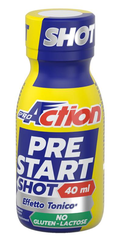 ProAction Pre Start shot Energetico 40ml  - latuafarmaciaonline.it