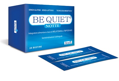 BE QUIET NOTTE 1 MG 20 BUSTINE 1,3 G