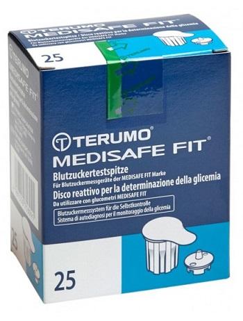 DISCO PER LA DETERMINAZIONE DELLA GLICEMIA MEDISAFE FIT 25 PEZZI - Farmapage.it