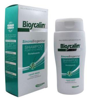 BIOSCALIN SINCROBIOGENINA SHAMPOO FORTIFICANTE RIVITALIZZANTE 200 ML - Farmapc.it