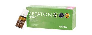 ZETATON MEMO 12 FLACONCINI 10 ML - Spacefarma.it