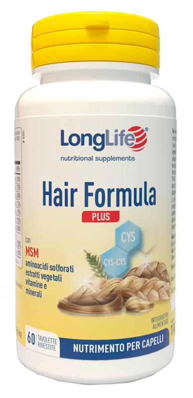 LONGLIFE HAIR FORMULA PLUS 60 TAVOLETTE - latuafarmaciaonline.it